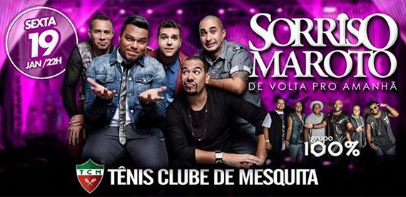 Sorriso Maroto, no Tênis Clube de Mesquita