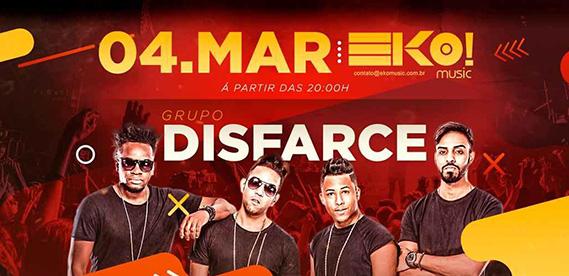 Show do Grupo Disfarce, no Eko Music