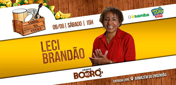 Samba da Feira, com Leci Brandão