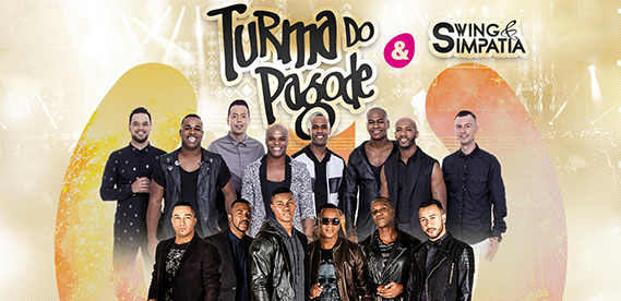 Turma do Pagode e Simpatia, no Lalu Lounge
