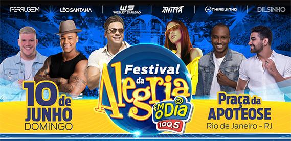 Festival da Alegria FM O Dia