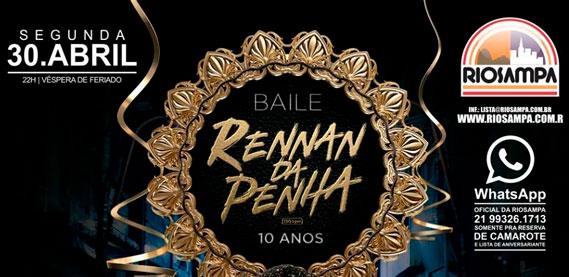 Baile do Rennan da Penha, na Riosampa