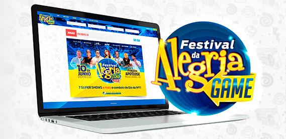 Mordomia Game Festival da Alegria