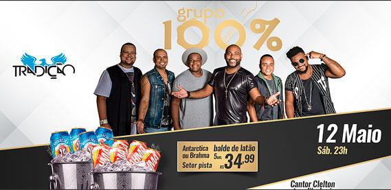 Grupo 100%, na Tradição Show