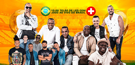 Fazenda Tucano - 1º Jogo do Brasil na Copa do Mundo 2018