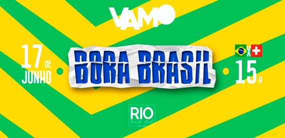 Bora Brasil, no Rio Beach Club