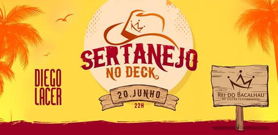 Sertanejo no Deck