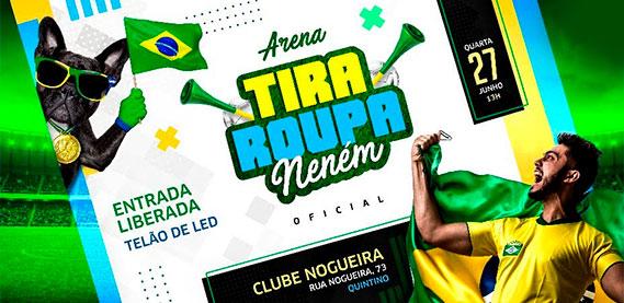 Clube Nogueira - Bloco Tira Roupa Neném