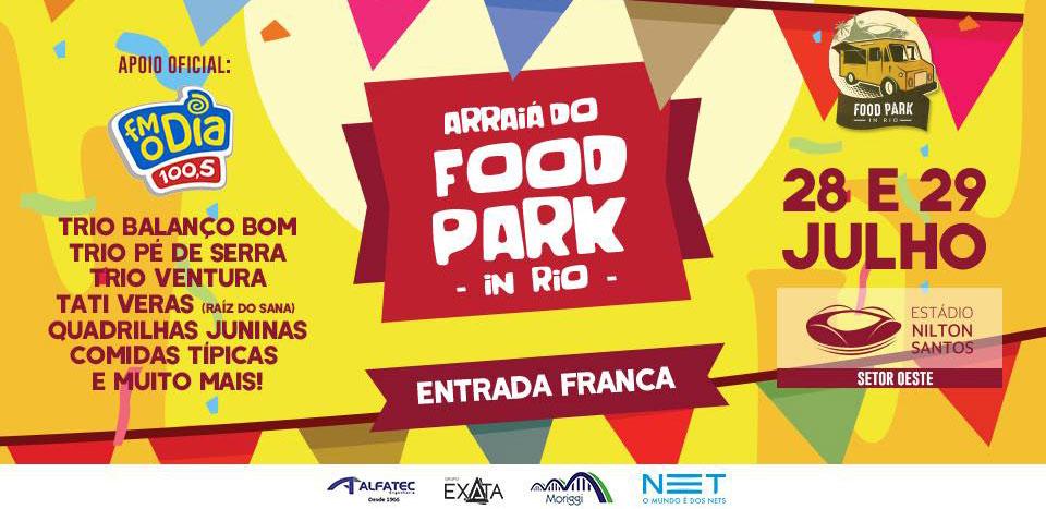 Arraiá do Food Park In Rio