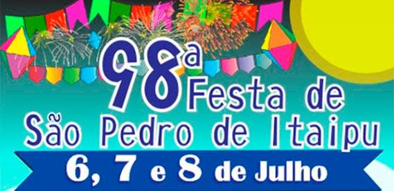 98ª Festa São Pedro de Itaipu