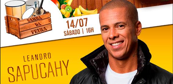 Samba na Feira com Leandro Sapucahy
