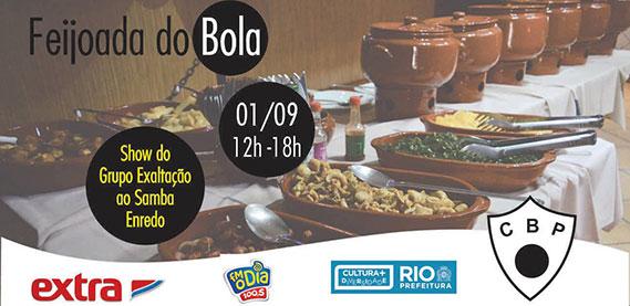 Feijoada do Bola com Grupo Exaltação ao Samba Enredo