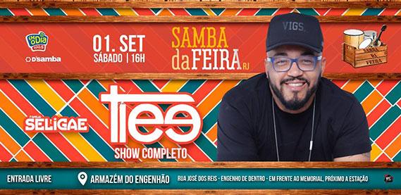 Samba da Feira com Tiee grupo Seligae