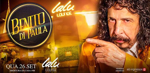 Benito de Paula no Lalu Lounge
