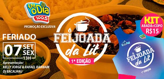 Feijoada Arena LIT com Pagodeô e DJ Bacalhau