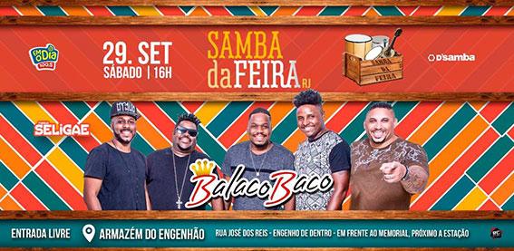 BALACOBACO no Samba da Feira