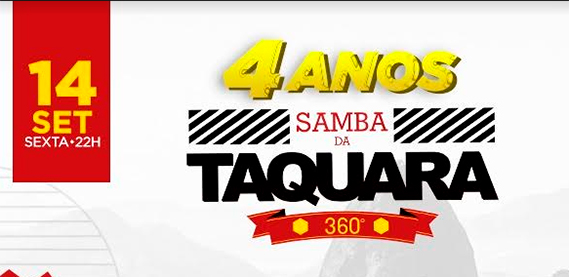 Mordomia 4 Anos do Samba da Taquara
