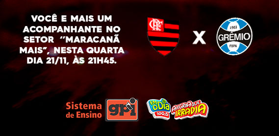 Torcida GPI - Flamengo vs Grêmio