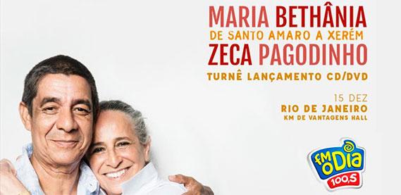 Maria Bethania e Zeca Pagodinho