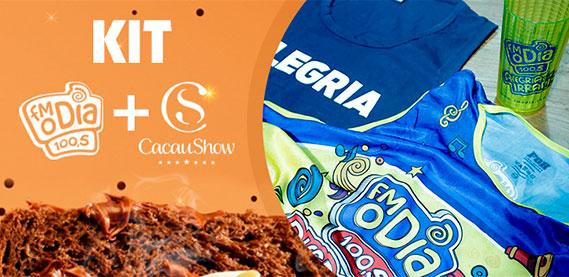 Kit FM O Fia + Cacau Show