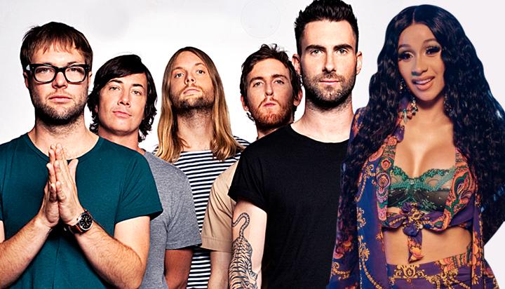 Maroon 5 feat. Cardi B