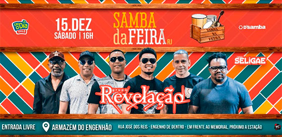 Samba da Feira com Revelação
