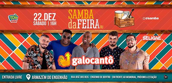 Samba da Feira com Galocantô