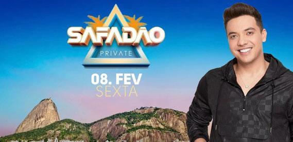 Wesley Safadão, no Morro da Urca