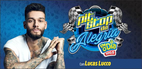 Pit Stop da Alegria com Lucas Lucco