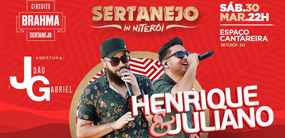 Sertanejo In Niterói com Henrique e Juliano