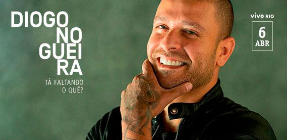 Diogo Nogueira – Em seu show: Tá Faltando o quê?