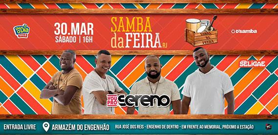 Samba da Feira com Vou Pro Sereno