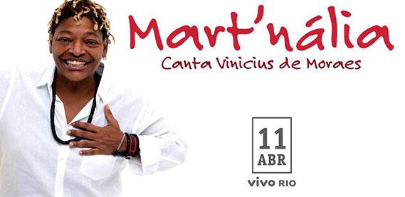 Mart'Nália canta Vinícius de Moraes