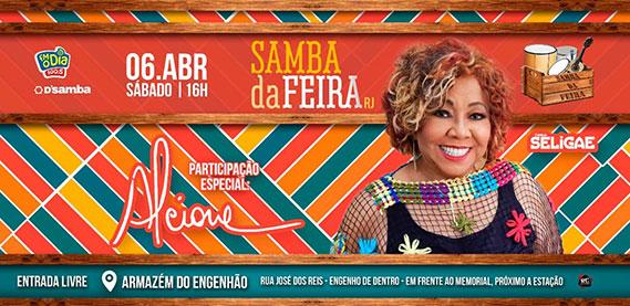 Samba da Feira com Alcione