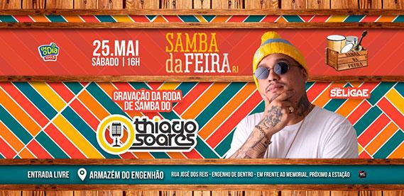 Samba da Feira com Thiago Soares