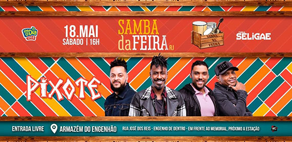 Samba da Feira com Pixote