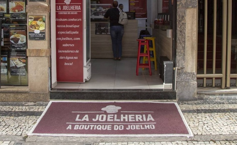 La Joelheria, boutique do joelho, joelho, salgado, loja