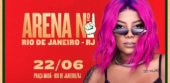 Arena Rio de Janeiro - Copa América com Ludmilla