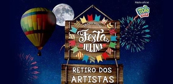 Festa Junina do Retiro dos Artistas