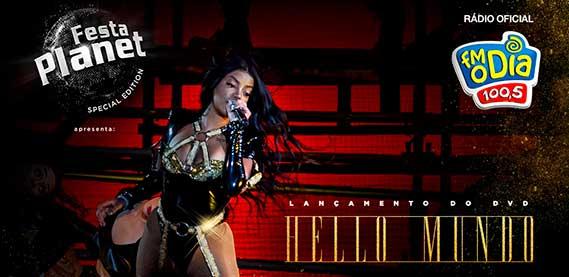 """Lançamento do DVD """"Hello Mundo"""" da Ludmilla no Espaço Hall"""