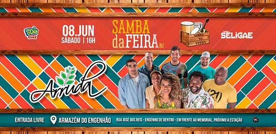 Samba da Feira com Grupo Arruda