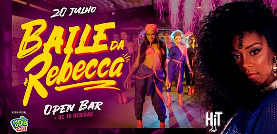 Baile da Rebecca - Boate Hit Club