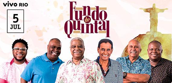 Show do Grupo Fundo de Quintal - Vivo Rio