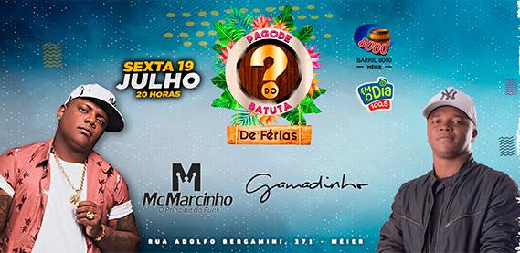 Pagode do Batuta com MC Marcinho