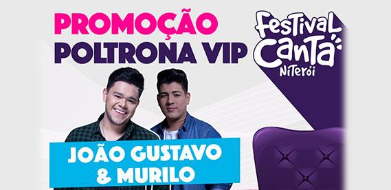 Mordomia Canta Niterói - Poltrona Vip com João Gustavo e Murilo
