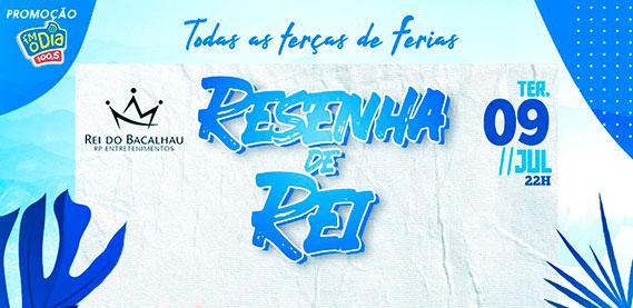 Resenha de Rei - Rei do Bacalhau Rio Petrópolis