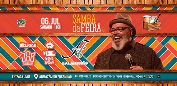 Samba da Feira com Jorge Aragão