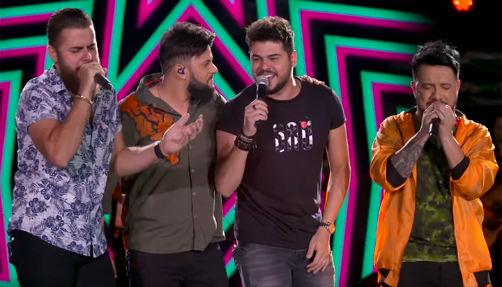 Diego e Vitor Hugo ft. Zé Neto e Cristiano