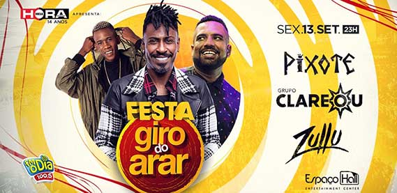 Espaço Hall - Festa Giro do Arar