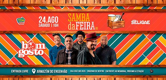 Samba da Feira - Grupo bom Gosto